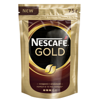 Кофе растворимый NESCAFE Gold 75г